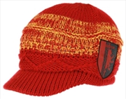 Harry Potter - Gryffindor Knit Brim Cap | Apparel
