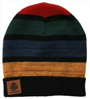 Harry Potter - Hogwarts Heathered Knit Beanie | Apparel