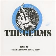 Live At The Starwood Dec 3 1980 - Limited Edition | Vinyl