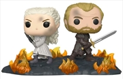 Game of Thrones - Daenerys & Jorah Back to Back Movie Moment Pop! Vinyl | Pop Vinyl