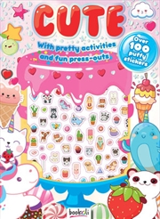 Cute With Amazing Activities And Puffy Stickers