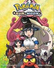 Pokemon - Sun And Moon Vol 4 | Paperback Book