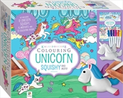 Kaleidoscope Colouring: Unicorn Squishy | Hardback Book
