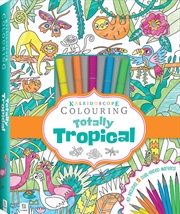 Kaleidoscope Colouring Totally Tropical Marker Kit