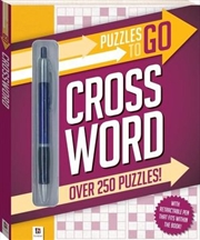 Puzzles To Go Crossword | Paperback Book