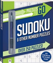 Sudoku Series 1: Puzzles To Go | Paperback Book