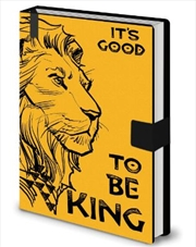 Lion King Good To Be King - A5 Notebook | Merchandise