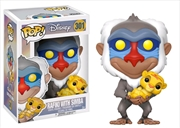 The Lion King - Rafiki with Simba Pop! Vinyl | Pop Vinyl