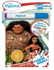 Inkredibles Moana Magic Ink Pictures | Hardback Book