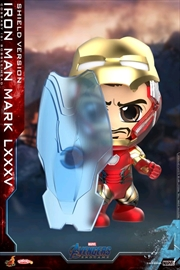 Avengers 4: Endgame - Iron Man Mark LXXXV Shield Cosbaby | Merchandise