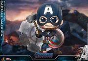 Avengers 4: Endgame - Captain America Battling Cosbaby | Merchandise