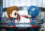 Avengers 4: Endgame - Captain America vs Captain America Cosbaby Set | Merchandise