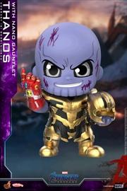 Avengers 4: Endgame - Thanos No Helmet Cosbaby | Merchandise