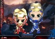 Avengers 4: Endgame - Iron Man Mark LXXXV & Rescue Unmasked Cosbaby Set | Merchandise