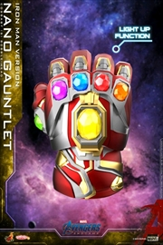 Avengers 4: Endgame - Nano Gauntlet Iron Man Light Up Cosbaby | Merchandise