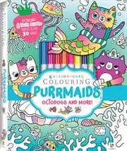 Kaleidoscope Colouring: Purrmaids, Octodogs and More | Hardback Book