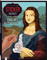 Sticker Mosaics - Fine-Art Masterpieces | Hardback Book