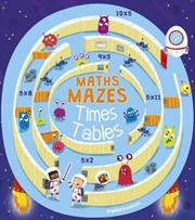 Maths Mazes: Times Tables | Paperback Book