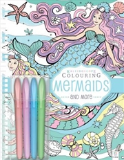 Kaleidoscope Colouring with Pastel Markers: Mermaids | Paperback Book