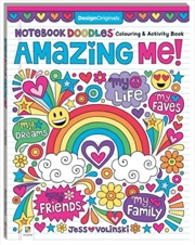 Notebook Doodles Amazing Me | Paperback Book