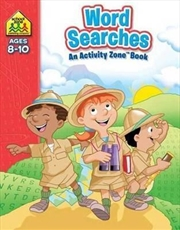 School Zone Word Searches Activity Zone Book | Paperback Book
