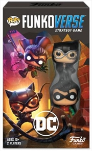 Funkoverse - Batman 2-Pack Expandalone Strategy Board Game | Games
