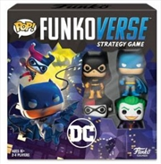 Funkoverse - Batman 4-pack Strategy Board Game | Games