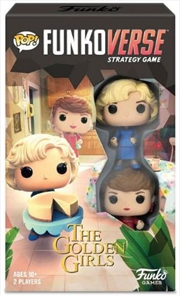 Funkoverse - Golden Girls 2-pack Expandalone Strategy Board Game