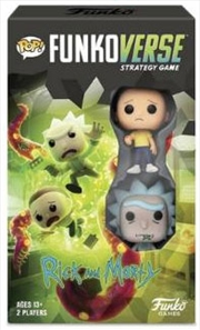Funkoverse - Rick & Morty 2-pack Expandalone Strategy Board Game