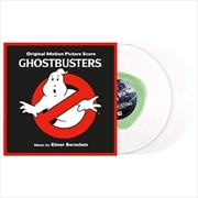 Ghostbusters - Limited Edition Clear With Green Slime Coloured Vinyl | Vinyl