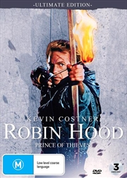 Robin Hood - Prince Of Thieves - Ultimate Edition | DVD