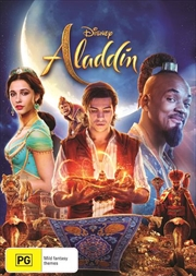 Aladdin Live Action | DVD