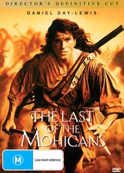 Last Of The Mohicans - Director's Edition Definitive Cut, The | DVD