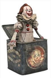 It chapter 2 - Pennywise in a box Gallery PVC Statue | Merchandise