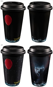 It (2017) - Pennywise Heat Change Travel Mug