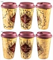 Harry Potter - Marauder's Map Heat Change Travel Mug | Merchandise