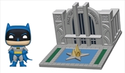 Batman - Batman with Hall of Justice 80th Anniversary Pop! Town | Pop Vinyl