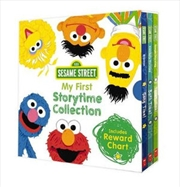 Sesame Street: My First Storytime Collection + Reward Chart | Hardback Book