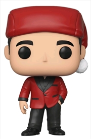 The Office - Michael as Santa Bond Pop! Vinyl | Pop Vinyl