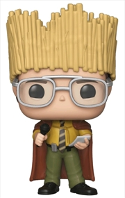 The Office - Dwight Schrute Hay King US Exclusive Pop! Vinyl [RS] | Pop Vinyl