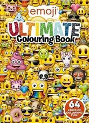 Emoji: Ultimate Colouring Book
