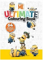 Despicable Me: Ultimate Colouring Book | Paperback Book