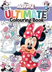 Minnie Mouse: Ultimate Colouring Book | Paperback Book
