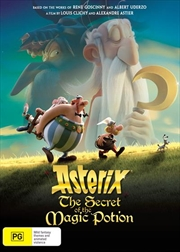 Asterix - The Secret Of The Magic Potion | DVD