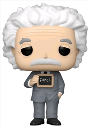 Pop Icons - Albert Einstein Pop! Vinyl