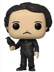 Pop Icons - Edgar Allan Poe with Raven US Exclusive Pop! Vinyl [RS]