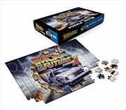 Back To The Future - Delorean 1000 Piece Puzzle