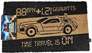 Back To The Future - Time Machine Doormat