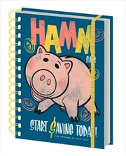 Toy Story 4 Hamm Retro Notebook
