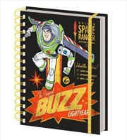 Toy Story 4 Buzz Retro Notebook | Merchandise
